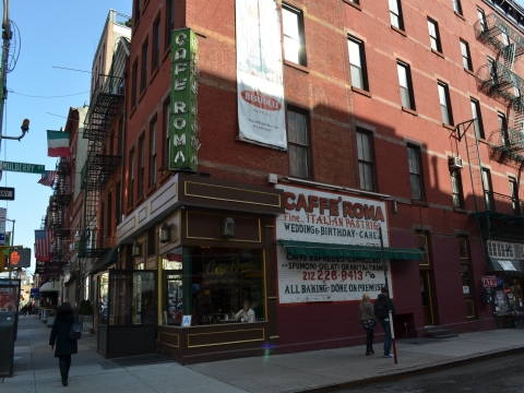 Classic Little Italy Restaurants & Cafes