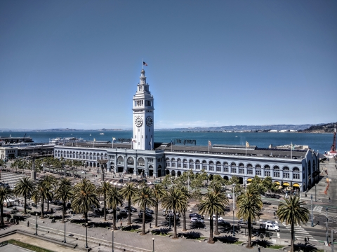 The San Francisco Ferry Building