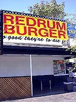 Redrum Burger - Davis, CA