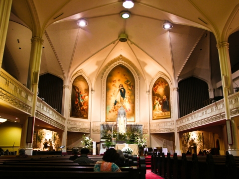 Old Catholic Cathedral Of St. Mary of the Immaculate Conception