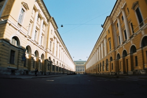Ulitsa Zodchego Rossi (Rossi street)