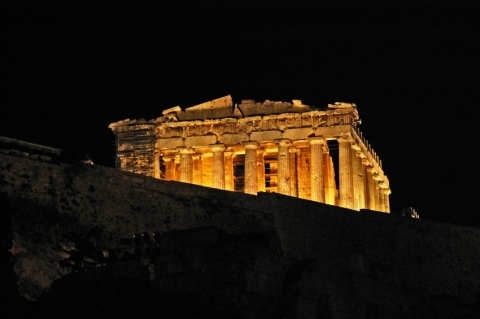 Athens by Night Tour by CHAT Tours