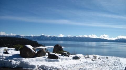 Snowmobile Treks at Lake Tahoe