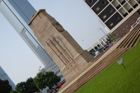 Statue Square and Cenotaph