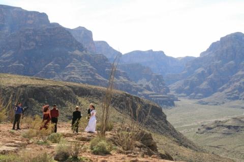Heli USA Grand Canyon Wedding