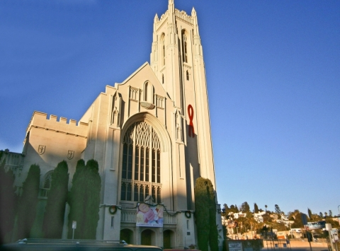 Hollywood United Methodist Church Sanctuary