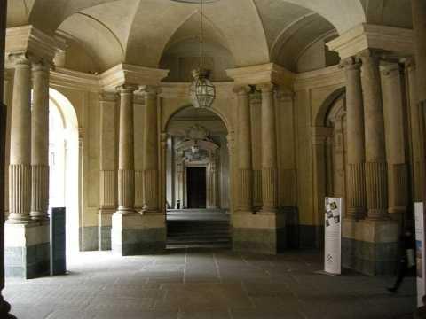 Cortile di Palazzo Carignano