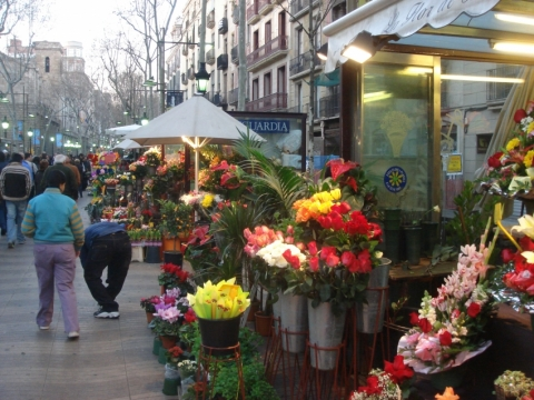 Rambla de Sant Josep / La de les Flors