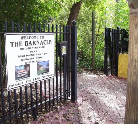 Barnacle State Historic Park
