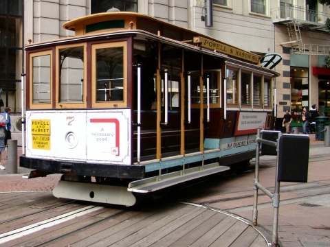 Cable Car Turnaround