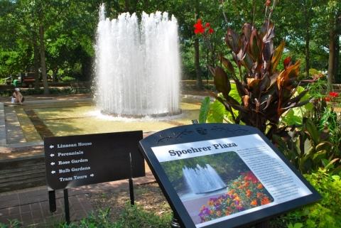 Spoehrer Plaza (Missouri Botanical Garden)