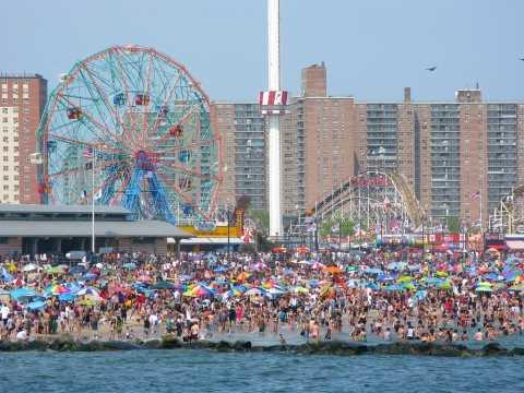 Coney Island Beach & Boardwalk