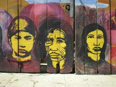 Balmy Street Murals
