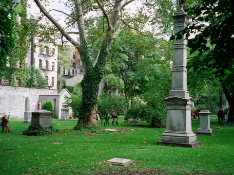 The New York City Marble Cemetery