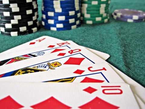 Tournament Poker Room at Caesars Palace