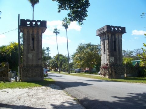 Entrance to Central Miami