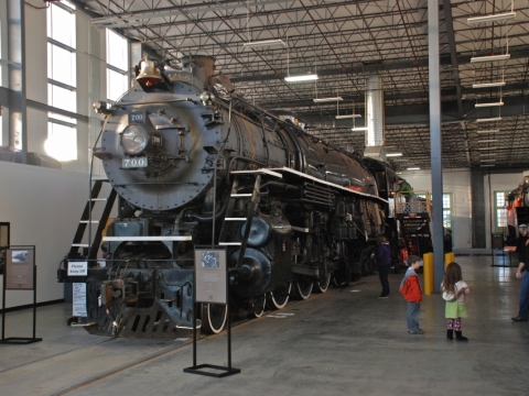 Spokane, Portland and Seattle Railway Steam Locomotive