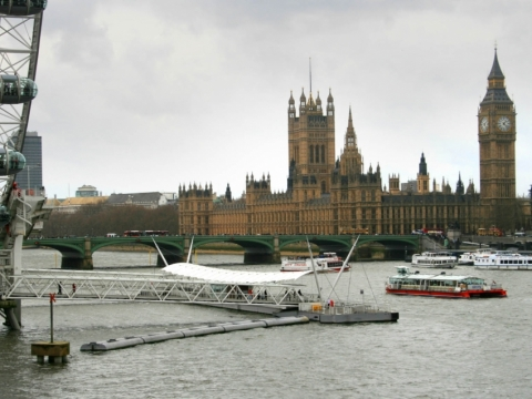 London Eye Pier