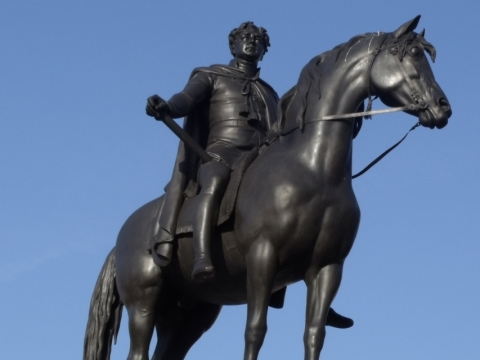Equestrian Statue of George IV
