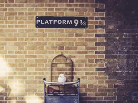 King's Cross Station/Platform 9 3/4
